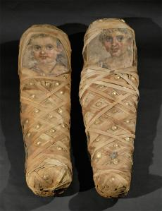 egyptian mummies with portraits 50 CE
