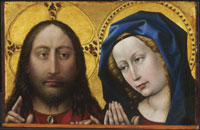 campin_christ and the virgin