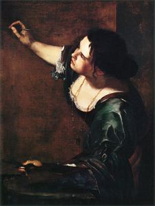 gentileschi_self portrait as allegory of painting