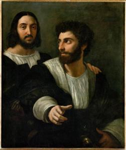 raphael_double portrait