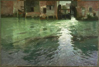 thaulow_water mill