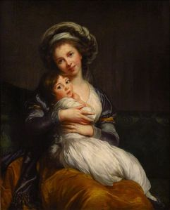 vigeelebrun_self port with daughter