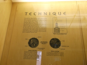 penn museum_coin technique