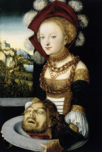 cranach the elder_salome