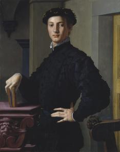 bronzino_portrait of a young man