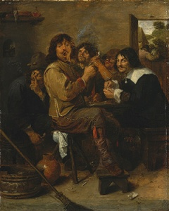 adriaen brower_smokers_met
