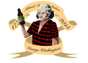millenial George Washington