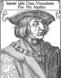 durer_portrait of emperor maximilianI